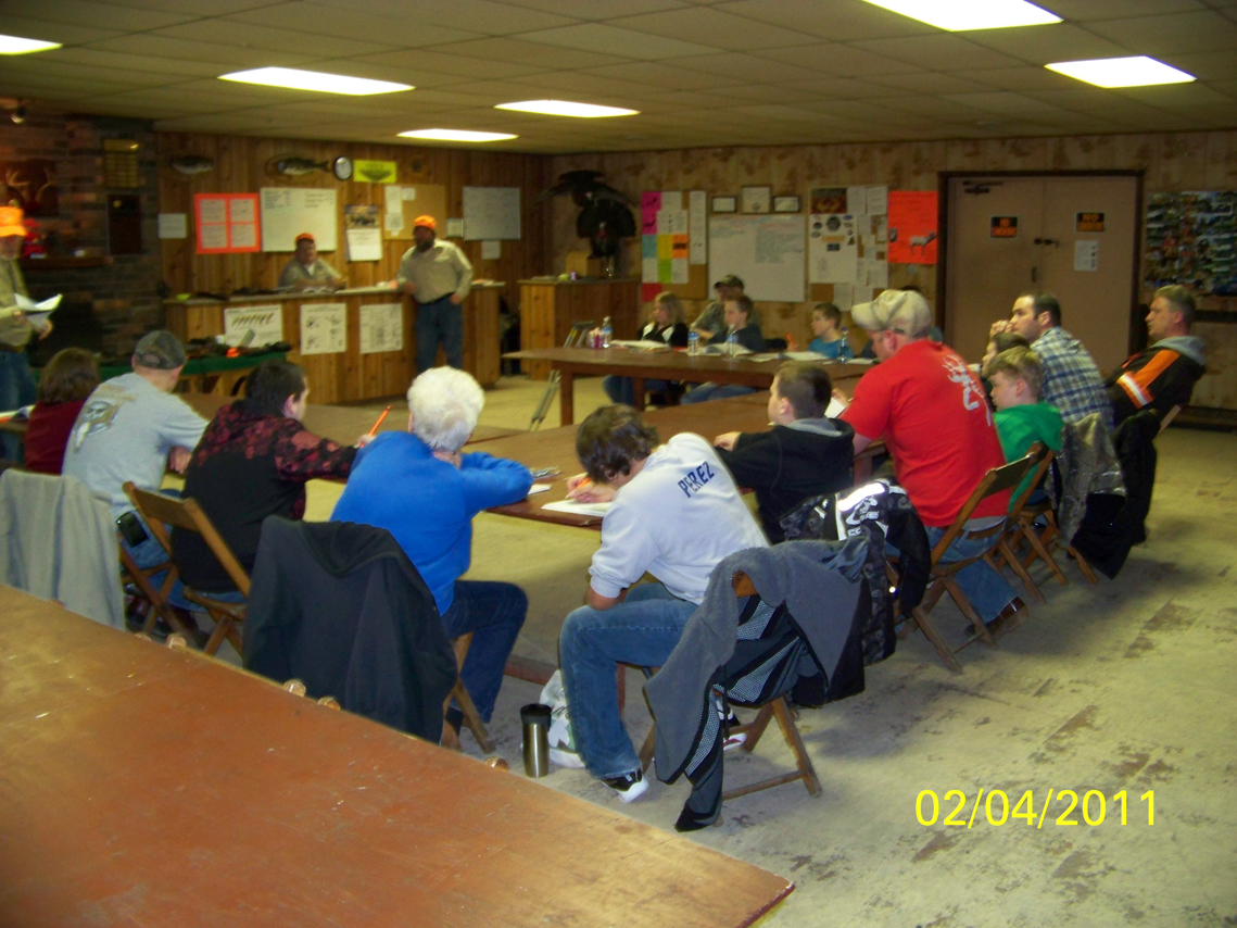Lake milton fish and game club hunter education photo album for Wsbtv fish and game